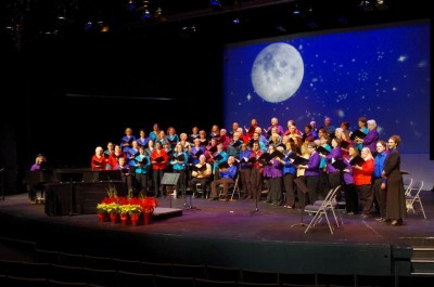 The Tallahassee Civic Chorale performs in their summer concert: A Fine Romance